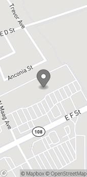 Mapa de 1570 E F St en Oakdale