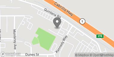 Mapa de 510 Quintana Road en Morro Bay