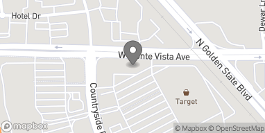 Map of 2858 W Monte Vista Ave in Turlock