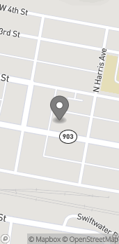 Map of 109 E 1st St in Cle Elum
