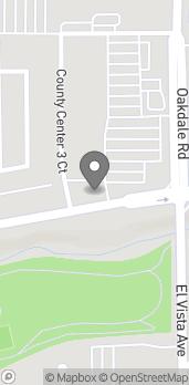 Map of 801 Oakdale Rd in Modesto