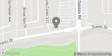Mapa de 801 Oakdale Rd en Modesto