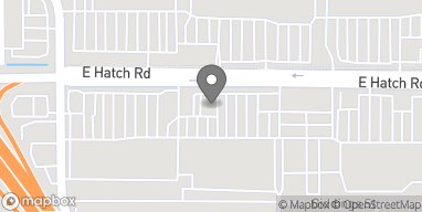 Map of 1410 E Hatch Rd in Modesto