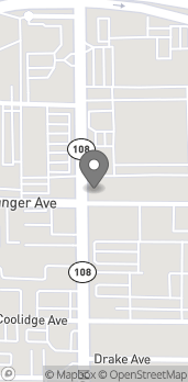 Mapa de 1600 McHenry Ave en Modesto