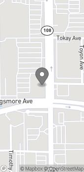 Mapa de 1809 McHenry Ave en Modesto