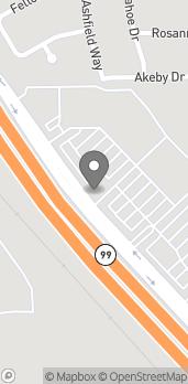 Mapa de 3900 Sisk Rd en Modesto
