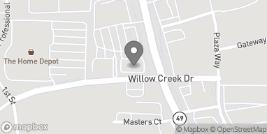 Mapa de 11835 Willow Creek Dr en Auburn