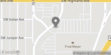 Map of 946 SW Veterans Way in Redmond