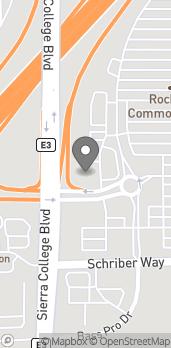 Map of 5498 Crossings Drive in Rocklin