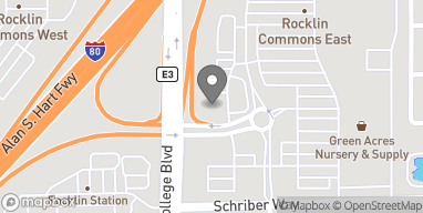 Mapa de 5498 Crossings Drive en Rocklin