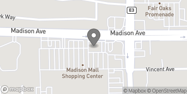 Map of 8888 Madison Avenue in Fair Oaks