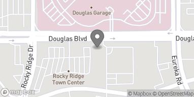 Mapa de 2030 Douglas Blvd en Roseville