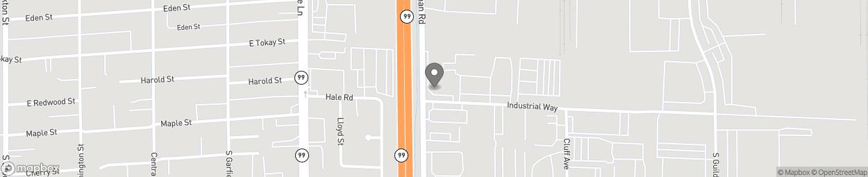 Carte de 730 South Beckman Road à Lodi