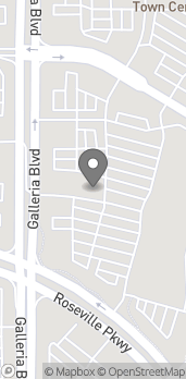 Map of 1136 Galleria Blvd in Roseville