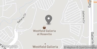 Mapa de 1151 Galleria Blvd en Roseville