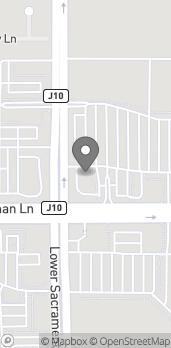 Mapa de 2439 W Kettleman Ln en Lodi