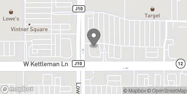 Map of 2439 W Kettleman Ln in Lodi