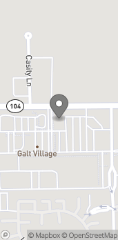 Map of 10420 Twin Cities Rd in Galt
