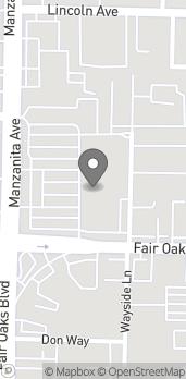 Map of 4024 Manzanita Ave in Carmichael