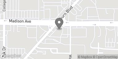 Mapa de 5044 Madison Ave en Sacramento