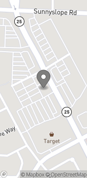 Map of 1740 Airline Hwy in Hollister