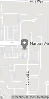 Map of 2820 Marconi Ave in Sacramento