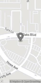 Map of 2244 Fair Oaks Blvd in Sacramento
