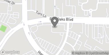 Mapa de 2244 Fair Oaks Blvd en Sacramento