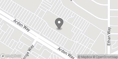 Mapa de 1743 Arden Way en Sacramento