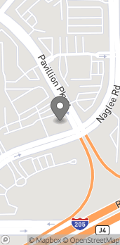 Map of 2805 Naglee Rd in Tracy
