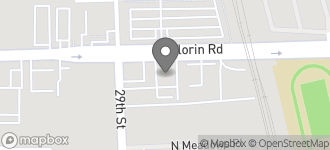 Map of 2980 Florin Road in Sacramento