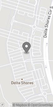 Map of 8166 Delta Shores Circle S. in Sacramento