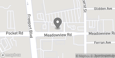 Map of 1441 Meadowview Rd in Sacramento