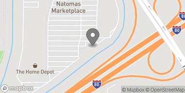 Mapa de 3591 Truxel Rd en Sacramento