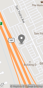 Map of 8647 San Ysidro Ave in Gilroy