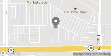 Map of 1054 Harter Rd in Yuba City