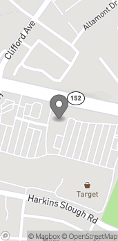 Map of 1439 Main Street in Watsonville