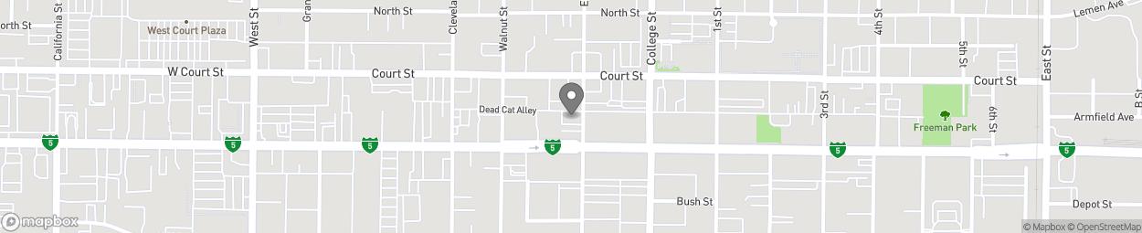Carte de 320 Elm Street à Woodland