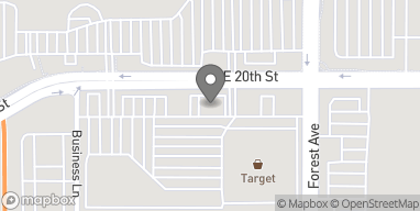 Mapa de 1947 E 20th St en Chico
