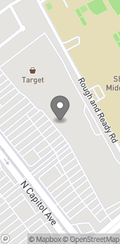 Mapa de 436 N Capitol Ave en San Jose