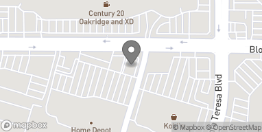 Map of 904 Blossom Hill Rd in San Jose