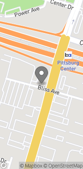 Map of 2110 Railroad Ave in Pittsburg
