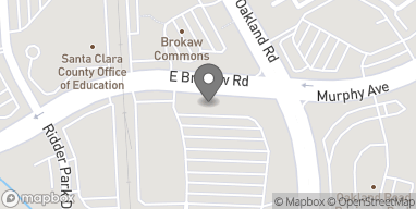Map of 1068 E Brokaw Rd in San Jose