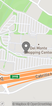 Map of 494 Del Monte Center in Monterey