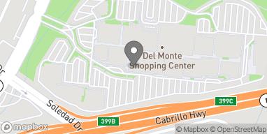 Map of 494 Del Monte Center in Monterey