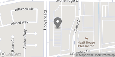 Map of 4747 Hopyard Rd in Pleasanton