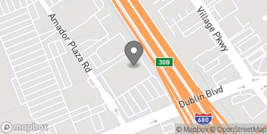 Mapa de 6851 Amador Plaza Rd en Dublin