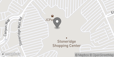 Map of 1452 Stoneridge Mall Rd in Pleasanton