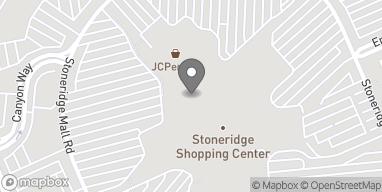 Mapa de 1452 Stoneridge Mall Rd en Pleasanton