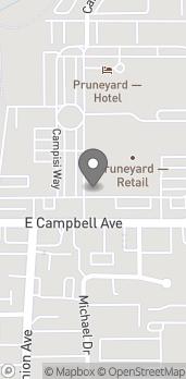 Mapa de 1875 South Bascom Avenue en Campbell